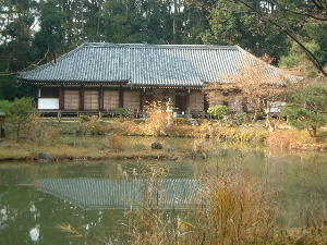浄瑠璃寺本堂 宝池