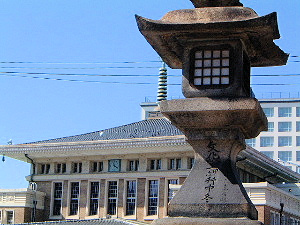 JR奈良駅の旧駅舎
