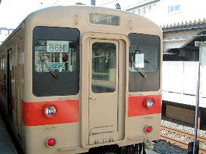JR桜井線の列車 JR万葉まほろば線