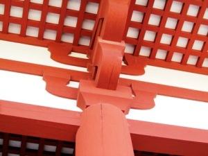 斗栱 朱雀門の建築意匠