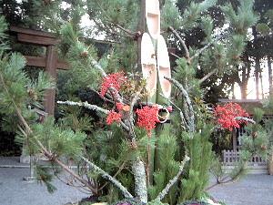 大神神社の門松 門松の意味