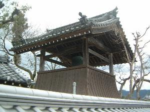 飛鳥寺の鐘楼