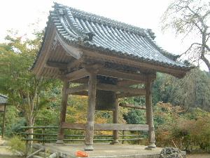 正暦寺の鐘楼