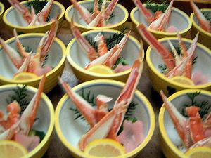 蟹の酢の物