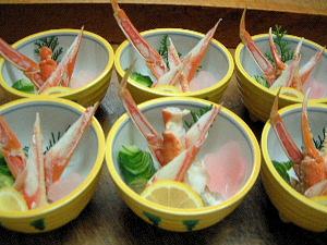蟹の酢の物 蟹料理