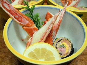 蟹酢 錦糸巻き おすすめ忘年会