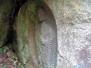からすの壺二尊 地蔵菩薩立像