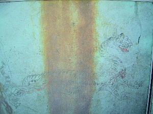 キトラ古墳壁画 白虎