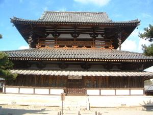 法隆寺金堂 世界遺産