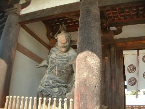 金剛力士像 法隆寺中門