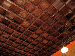 神廟拝所の天井