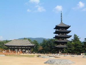 興福寺五重塔 東金堂