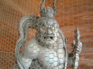 久米寺の仁王像