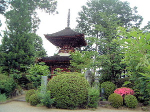 久米寺の多宝塔