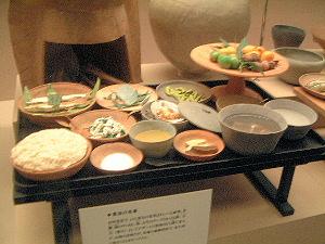 古代人の食事