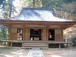 弥勒堂 室生寺