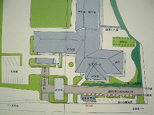 敷地案内 飛鳥藤原宮跡発掘調査部
