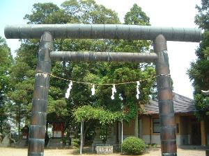 楢神社の鳥居