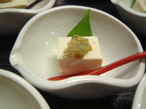 新緑豆腐 豆腐料理