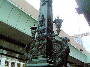 日本橋のオブジェ