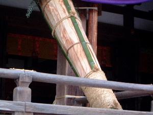 繞道祭の松明 大神神社