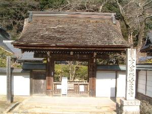 室生寺の表門