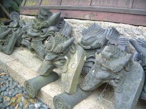 鬼瓦 吉田寺