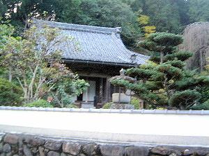 大野寺の塀