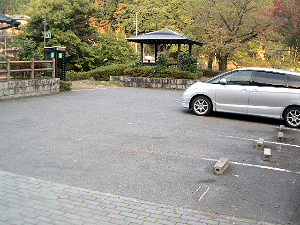 大野寺の駐車場 駐車場案内