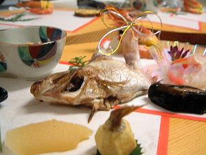おせち料理 焼き鯛