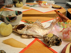 おせち料理 奈良の旅館