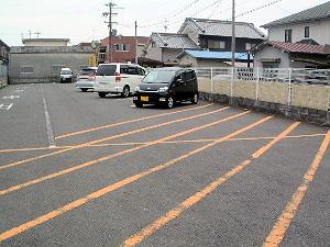 おふさ観音の駐車場 大型車駐車可