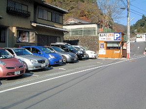 長谷寺駐車場