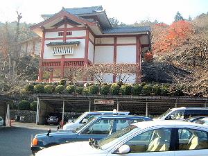 長谷寺の駐車場