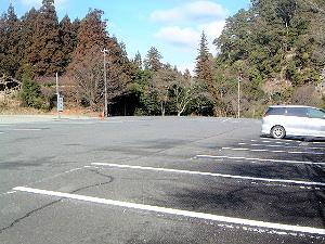 室生寺駐車場