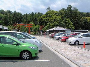 霊山寺の駐車場