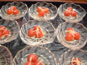 プチトマト料理