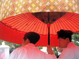 奈良県庁前 お渡り式 春日若宮おん祭