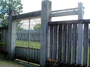 鹿苑ゲート 入口