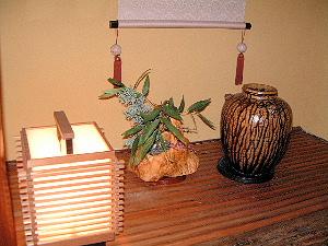 客室の灯り