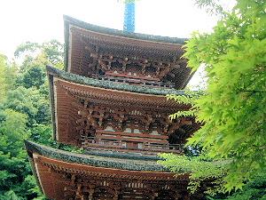 霊山寺三重塔