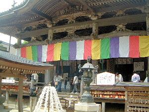岡寺の本堂