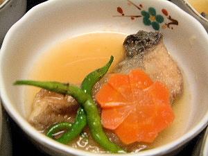 サバのみぞれ煮 日本料理