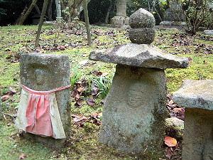 長岳寺の石仏