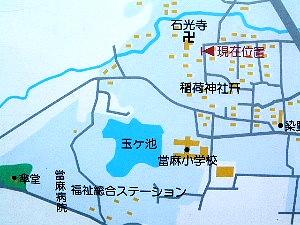 石光寺地図