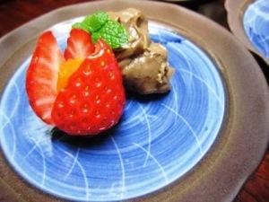 あすかルビー 大和茶風味の生チョコ
