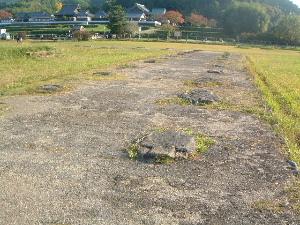 礎石跡 川原寺跡
