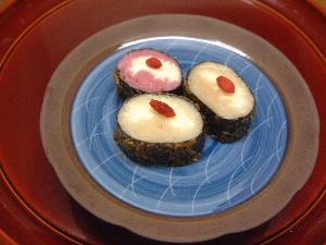 三輪素麺クラッカー揚げ