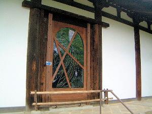 ステンドグラス 浄瑠璃光 新薬師寺
