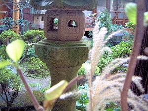 飛鳥の旅館 大正楼中庭